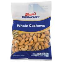 Blain's Farm & Fleet Whole Cashews Grab N' Go Bag from Blain's Farm and Fleet