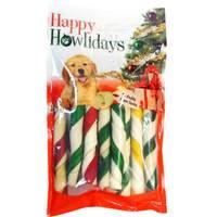 Pet Factory Holiday Porkhide Twist Rolls 12-Pack from Blain's Farm and Fleet