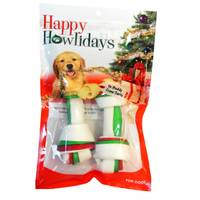 Pet Factory 3-Color Holiday Bone -  2 Pack from Blain's Farm and Fleet