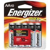 Energizer Max AA Alkaline Batteries from Blain's Farm and Fleet