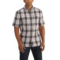 Carhartt Men's Fort Plaid Short Sleeve Shirt from Blain's Farm and Fleet
