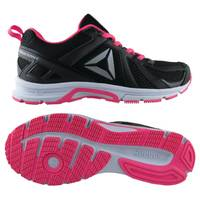 Reebok 6.5D WMS Runner MT Ath Shoe Blk/Pink from Blain's Farm and Fleet
