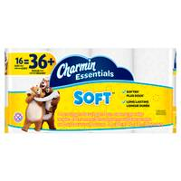Charmin Essentials Soft Toilet Paper - 16 Giant Rolls from Blain's Farm and Fleet