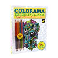 As Seen On TV Colorama Delightful Dogs Color Book from Blain's Farm and Fleet