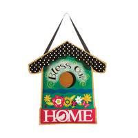 Evergreen Enterprises Bless Our Home Burlap Door Decorative Hanger from Blain's Farm and Fleet
