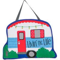 Evergreen Enterprises Livin the Life Door Decorative Hanger from Blain's Farm and Fleet