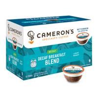 Cameron's Coffee Decaf Breakfast Blend from Blain's Farm and Fleet