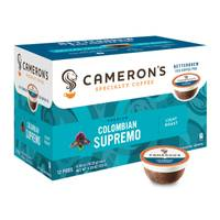 Cameron's Coffee Colombian Supremo from Blain's Farm and Fleet