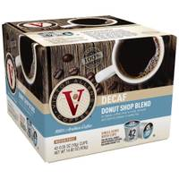 Victor Allen's Coffee Decaf Donut Shop Coffee - 42 count from Blain's Farm and Fleet