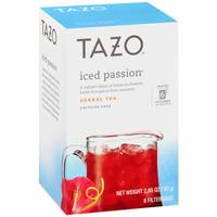 Tazo Iced Passion Herbal Tea from Blain's Farm and Fleet