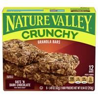 Nature Valley Oats 'n Dark Chocolate Crunchy Granola Bars from Blain's Farm and Fleet