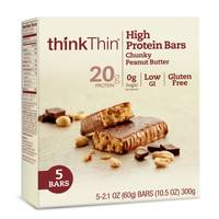 thinkThin Chunky Peanut Butter Chocolate from Blain's Farm and Fleet