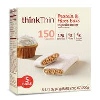thinkThin Protein & Fiber Bars Cupcake Batter from Blain's Farm and Fleet