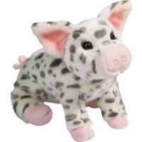 Douglas Cuddle Toys Pauline Spotted Pig Plush from Blain's Farm and Fleet