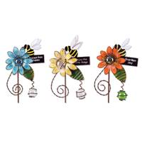 Sunset Vista Designs Whispering Wings Bee Pot Sticker Assortment from Blain's Farm and Fleet