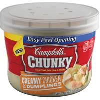 Campbell's Chunky Microwavable Bowl Chicken Dumplings from Blain's Farm and Fleet