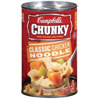 Campbell's Chunky Classic Chicken Noodle Soup from Blain's Farm and Fleet