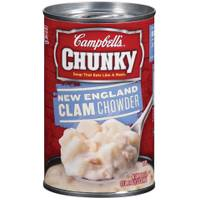 Campbell's Chunky New England Clam Chowder Soup from Blain's Farm and Fleet
