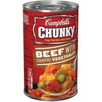 Campbell's Chunky Beef & Country Vegetables Soup from Blain's Farm and Fleet
