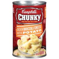 Campbell's Chunky Chicken Broccoli Cheese Soup from Blain's Farm and Fleet