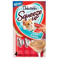Hartz Delectables Squeeze Up Cat Treat 4-Pack from Blain's Farm and Fleet
