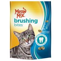 Meow Mix Brushing Bites Cat Dental Treats from Blain's Farm and Fleet