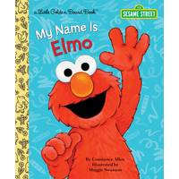 Golden Books Sesame Street My Name is Elmo Board Book from Blain's Farm and Fleet