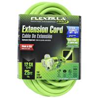Flexzilla PRO 12 GA 25' Extension Cord from Blain's Farm and Fleet