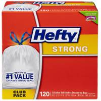 Hefty Strong Tall Kitchen Drawstring Trash Bags from Blain's Farm and Fleet