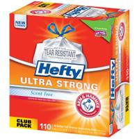 Hefty Strong Kitchen Drawstring Trash Bags from Blain's Farm and Fleet