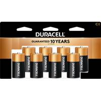 Duracell Coppertop C Household Batteries - 8 Pack from Blain's Farm and Fleet