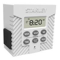 Stanley TimerMax Weekly Digital Timer from Blain's Farm and Fleet
