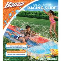 Banzai 16' Speed Blast Dual Racing Slide from Blain's Farm and Fleet