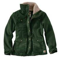 Carhartt Misses  Weathered Duck Wesley Coat from Blain's Farm and Fleet