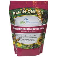 Mountain View Seeds Hummingbird & Butterfly Wildflower Seed Mixture from Blain's Farm and Fleet