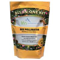 Mountain View Seeds Bee Pollinator Wildflower Seed Mixture from Blain's Farm and Fleet