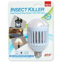 PIC Insect Killer Dual Purpose Bug Zapper with LED Light from Blain's Farm and Fleet