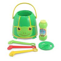 Melissa & Doug Tootle Turtle Bubble Bucket from Blain's Farm and Fleet