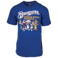 MLB Brewers Sausage Race Tee from Blain's Farm and Fleet
