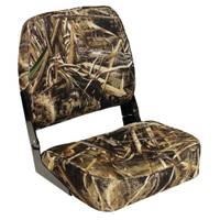 Wise Max 5 Camo Low Back Boat Seat from Blain's Farm and Fleet