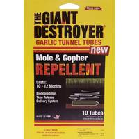 The Giant Destroyer Garlic Tubes Mole & Gopher Repellent from Blain's Farm and Fleet