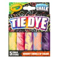 Crayola Tie Dye Washable Sidewalk Chalk from Blain's Farm and Fleet
