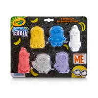 Crayola Washable Despicable Me Chalk Shapes 6-Pack from Blain's Farm and Fleet