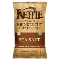 Kettle Brand Krinkle Cut Sea Salt Potato Chips from Blain's Farm and Fleet
