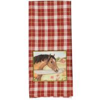 Kay Dee Designs Grace & Beauty Red Tea Towel from Blain's Farm and Fleet