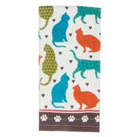 Kay Dee Designs Cat's Life Terry Towel from Blain's Farm and Fleet