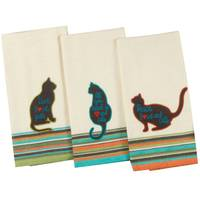 Kay Dee Designs Cat's Life Tea Towel Assortment from Blain's Farm and Fleet