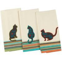 Kay Dee Designs Cat's Life Tea Towel Assortment from Blain's Farm and Fleet