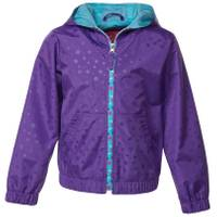 Pink Platinum Little Girls' Star Print Jacket from Blain's Farm and Fleet