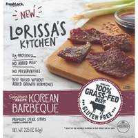 Lorissa's Kitchen Korean Barbeque Premium Steak Strips from Blain's Farm and Fleet